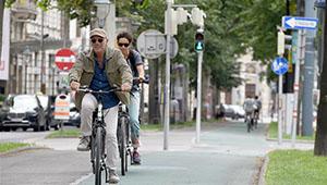Gesamtzahl der Radfahrer in Wien steigt im Mai 2020 gegenüber dem Vorjahreszeitraum um 45 Prozent