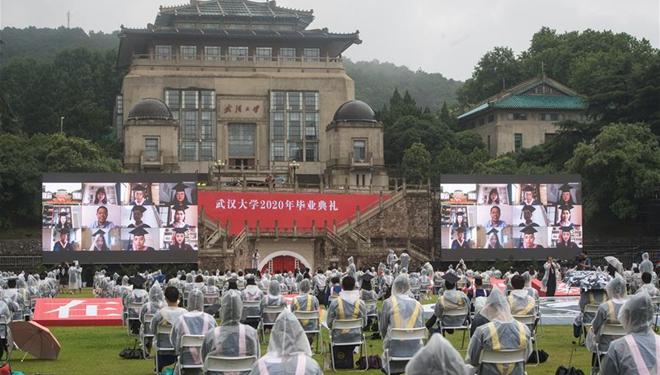 Wuhan-Universität hält Absolventenfeier ab