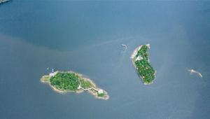 Luftaufnahmen von Hongfeng-See-Landschaftsgebiet in Guizhou