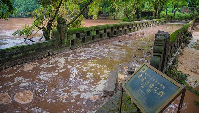 Tausende sind von starken Regenfällen im Südwesten Chinas betroffen