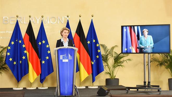 Führungen von EU und Deutschland werden zu Gesprächen über Wiederbelebung der Wirtschaft zusammentreffen