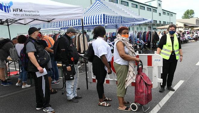 Flohmarkt in Frankfurt wiedereröffnet