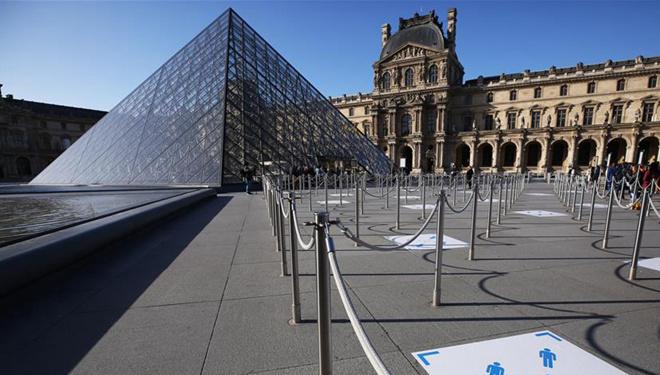 Pariser Louvre nach über dreimonatiger Schließung wieder geöffnet