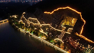 Nachttouren in Luoyang ziehen viele Besucher an
