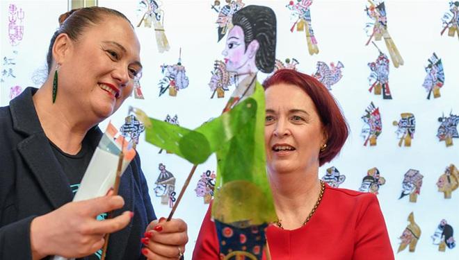 Kulturelle Veranstaltung in Neuseeland bietet chinesische, maorische Kunst und Aufführungen