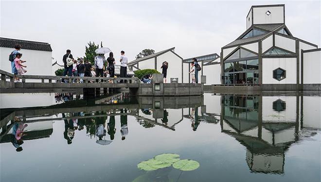 Suzhou-Museum zieht Besucher an