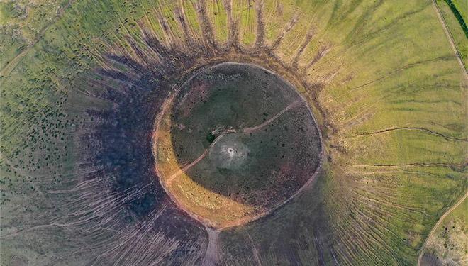 In Bildern: Vulkan des Ulanhada-Vulkanclusters in Innerer Mongolei