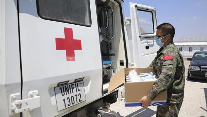 Medizinische Einheit der chinesischen Friedenstruppen im Libanon wird Beirut Hilfe leisten