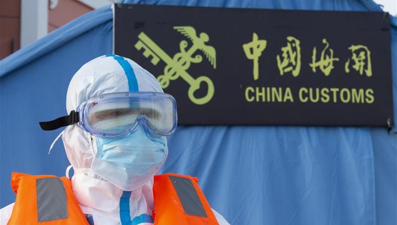 Chinas Hafen in Heilongjiang ergreift strenge Maßnahmen gegen COVID-19