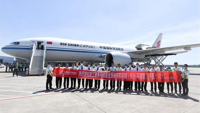 All-Cargo-Flugroute zwischen Hangzhou und Madrid gestartet