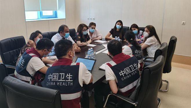 Chinesische medizinische Experten unterstützen Aserbaidschans Kampf gegen COVID-19