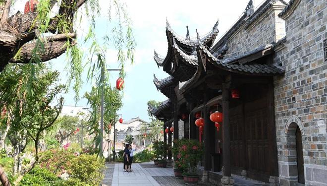 Der Kreis Changting in Fujian bewahrt ein altes Erscheinungsbild