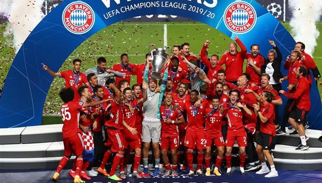 FC Bayern München gewinnt die Champions League