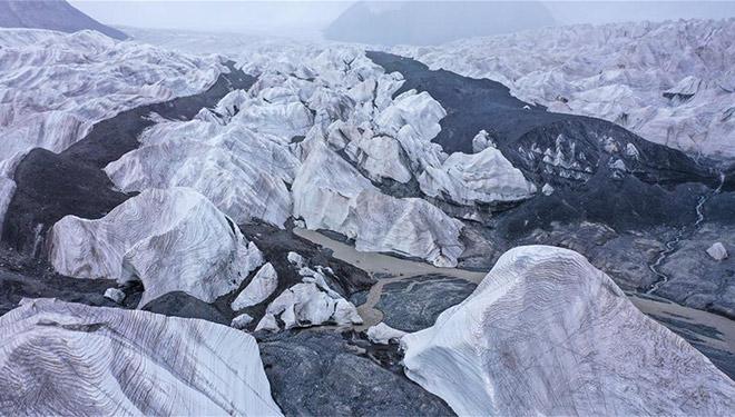 In Bildern: Gletscher im Quellgebiet des Jangtse