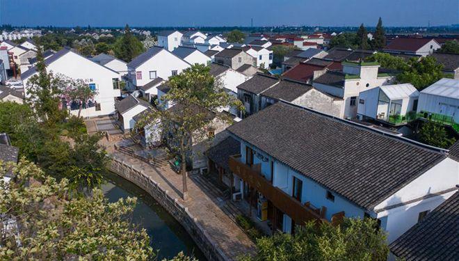 Dorf in Provinz Zhejiang entwickelt Tourismus- und Gästehausbranche