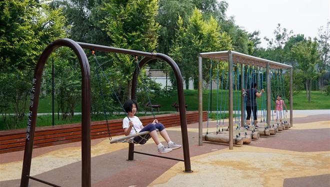 Beijing entwickelt und erweitert Grünflächen in der Stadt