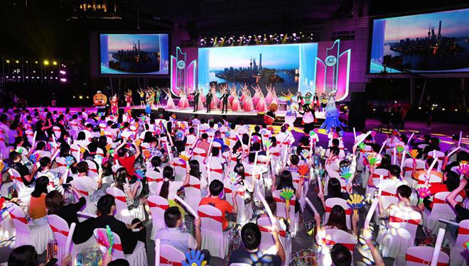Shanghaier Tourismusfestival eröffnet