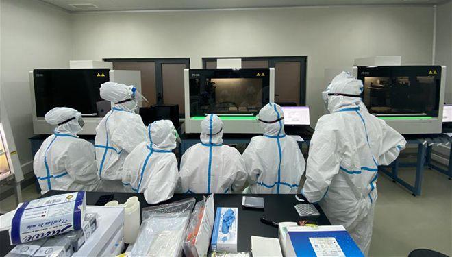 Chinesische Huoyan-Labors in Angola zur Verbesserung der Testkapazität eingesetzt