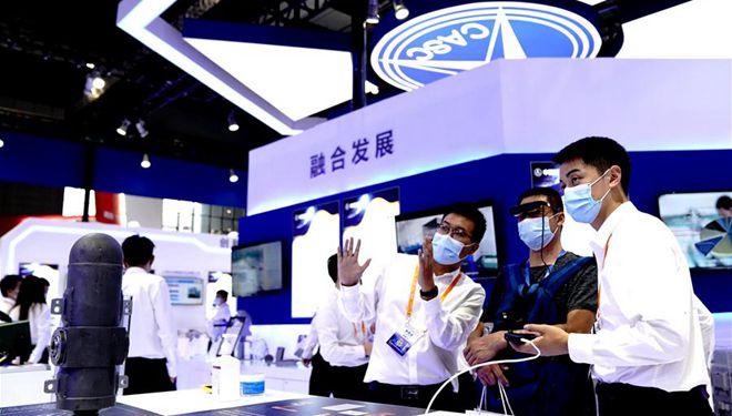 Chinesische Internationale Industriemesse startet in Shanghai