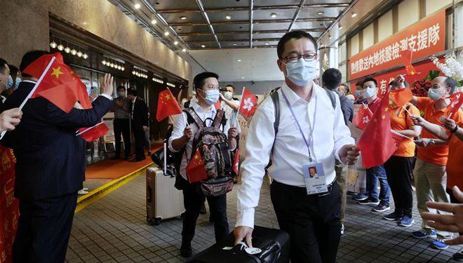 Mission erfüllt: Medizinische Experten aus Festland helfen bei Eindämmung von COVID-19 in Hongkong