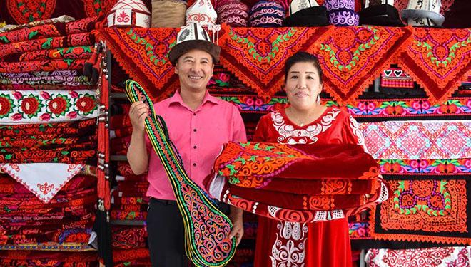 Traditionelle Handwerksindustrie zur Armutsbekämpfung in Chinas Xinjiang entwickelt