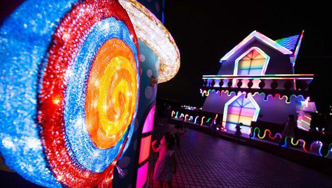 Höhepunkte des Macao Light Festivals