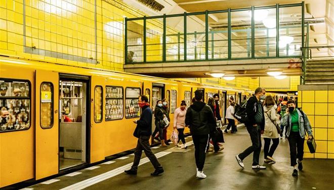 Alltag in Berlin inmitten der COVID-19-Pandemie
