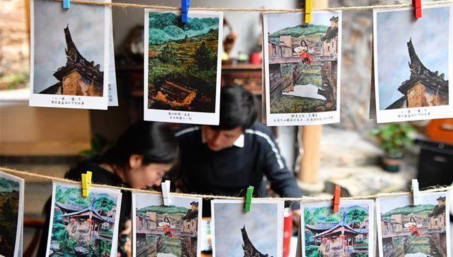 Dorf in Fujian schüttelt Armut durch Kultur- und Kreativwirtschaft ab
