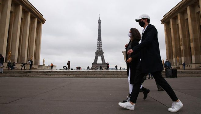COVID-19-Fälle in Frankreich übersteigen 1 Million, nachdem 42.032 Neuinfektionen bestätigt wurden