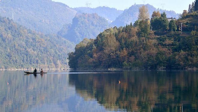 Landschaft von Enshi in Zentralchina