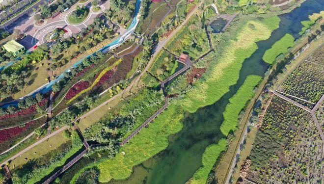 In Bildern: Nakao-Fluss-Feuchtgebietspark in Nanning