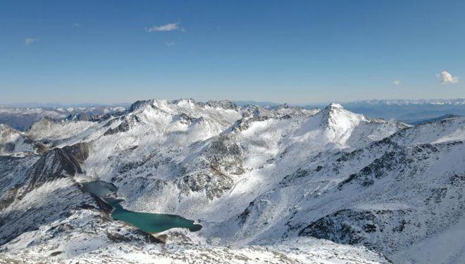 In Bildern: Dagu-Gletscher in Aba von Sichuan