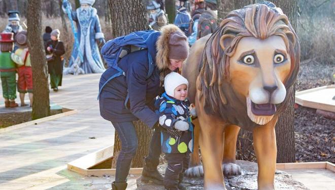 """Moskau eröffnet """"Märchenpfad"""" mit 65 Skulpturen aus Märchen aus aller Welt"""