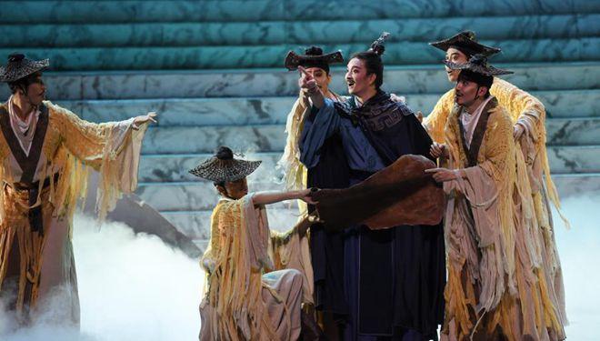 """Tanzdrama """"Regenbogen"""" erzählt Zhang Qians Reise in westliche Regionen nach"""