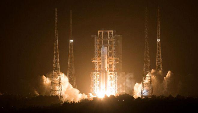 China startet Chang'e-5, um Mondproben zu sammeln und zurückzubringen