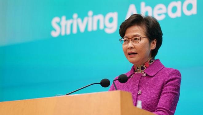 Hongkong greift größere Entwicklungsmöglichkeiten mit neuer politischen Grundsatzrede auf