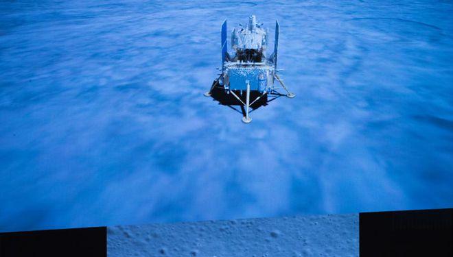 Chinas Chang'e-5 landet auf dem Mond, um Proben zu holen