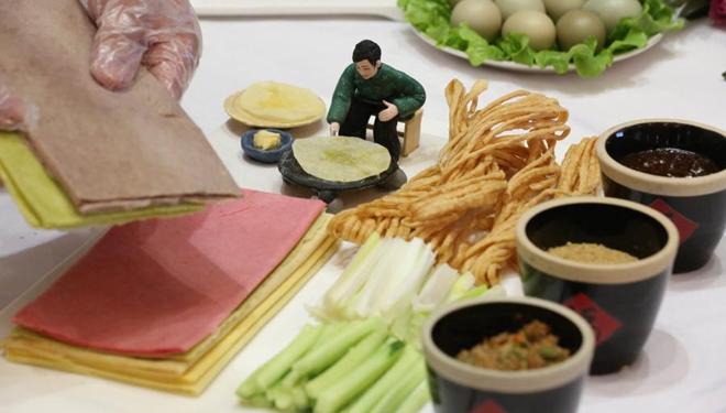 Kochwettbewerb im Kreis Yinan in Shandong abgehalten