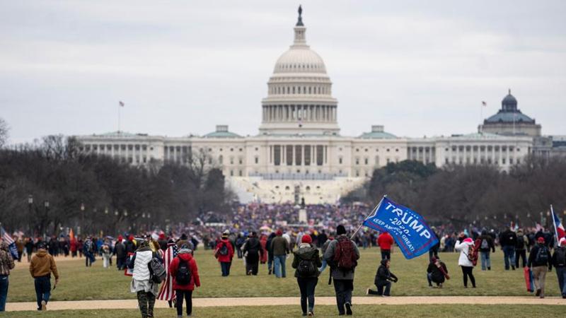 """Biden verurteilt """"Aufstand"""" im US-Kapitol"""