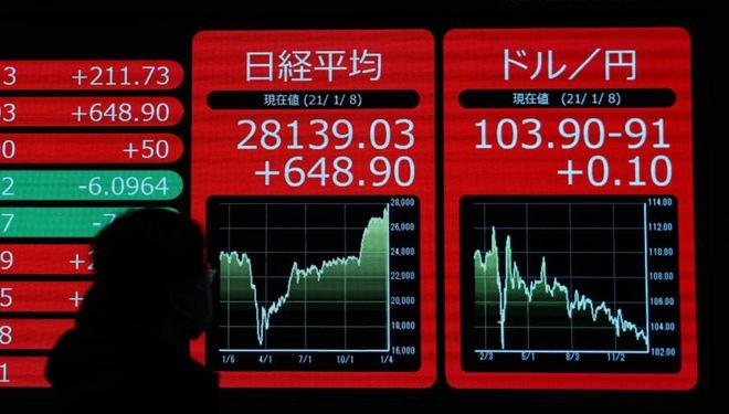Aktien in Tokio schließen am Freitag mit Hoffnung auf Aufschwung der Wall Street deutlich höher