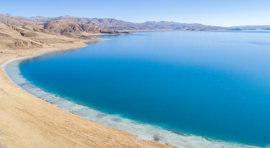 Population der Wildtiere am Yamzbog Yumco-See nimmt jährlich zu