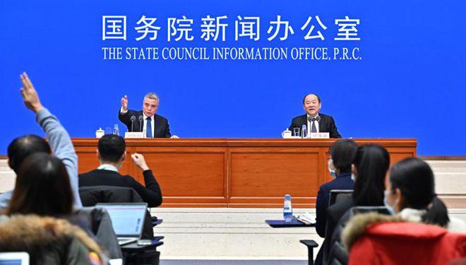 Staatliches Amt für Statistik hält Pressekonferenz ab