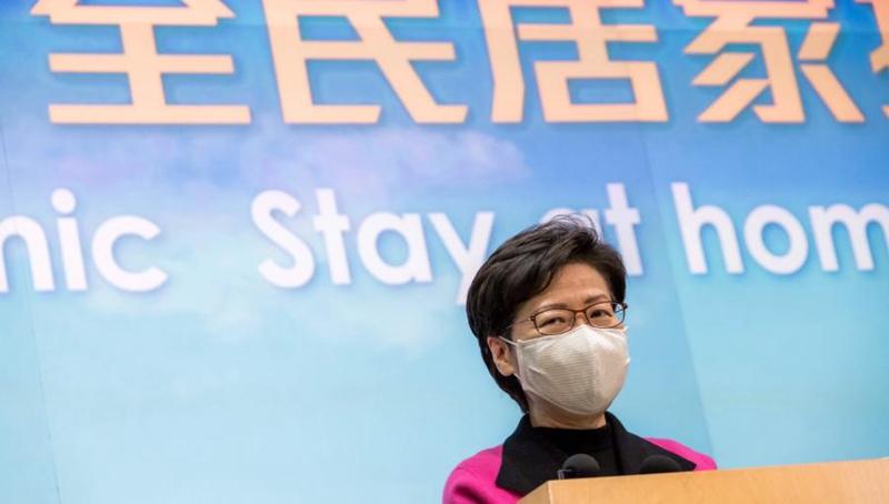 Chief Executive der HKSAR: Neues provisorisches Krankenhaus wird am Mittwoch fertiggestellt