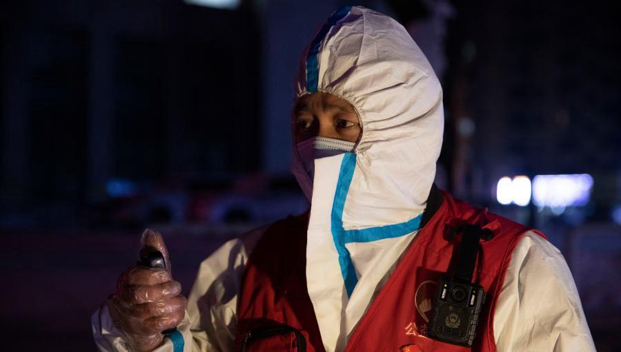 Freiwillige Fahrer bieten kostenlose Fahrten inmitten der COVID-19-Pandemie in Suihua an