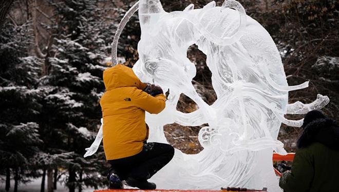 47. Eislaternenmesse Harbin findet in Harbin statt