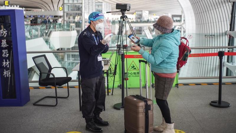 Internationaler Flughafen Beijing-Daxing stärkt COVID-19-Prävention