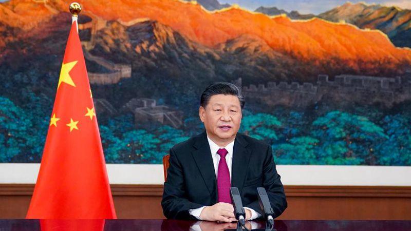 Staatspräsident Xi hält Rede bei virtueller Veranstaltung der Davos Agenda des WEF