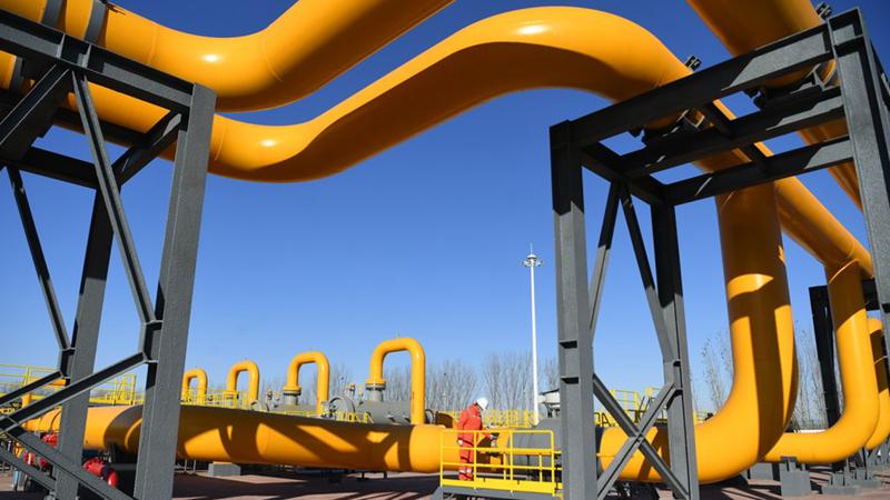 China produziert und importiert mehr Erdgas