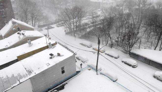 Schneesturm trifft US-Bundesstaat New York