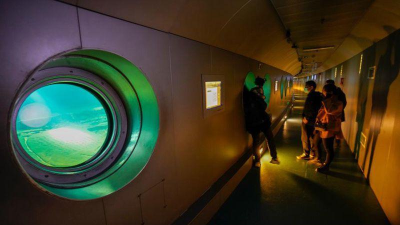 Chinas erstes Unterwassermuseum: Baiheliang-Museum in Chongqing nach viermonatiger Renovierung wieder geöffnet